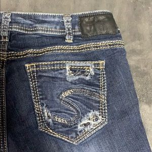 🍀Sale🍀 Gently used like new Silver Jeans
